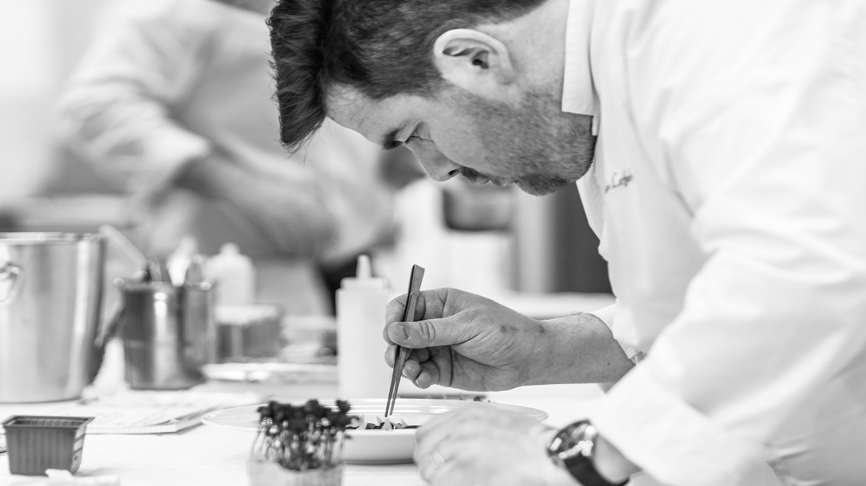 Julien Lefebvre en cuisine
